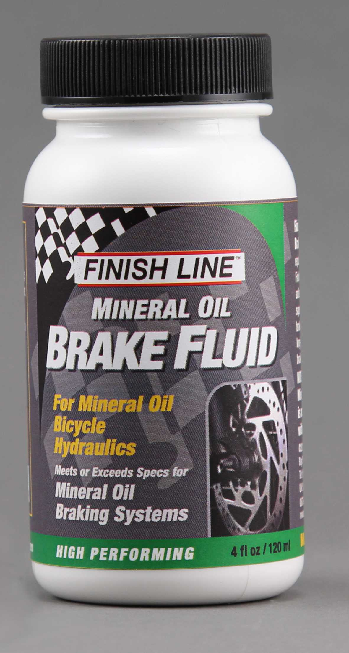 Finish Line Mineral Oil Brake Fluid 125ml