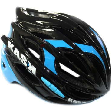 Kask Mojito Road Helmet - Medium (48-58cm) - Black/Blue