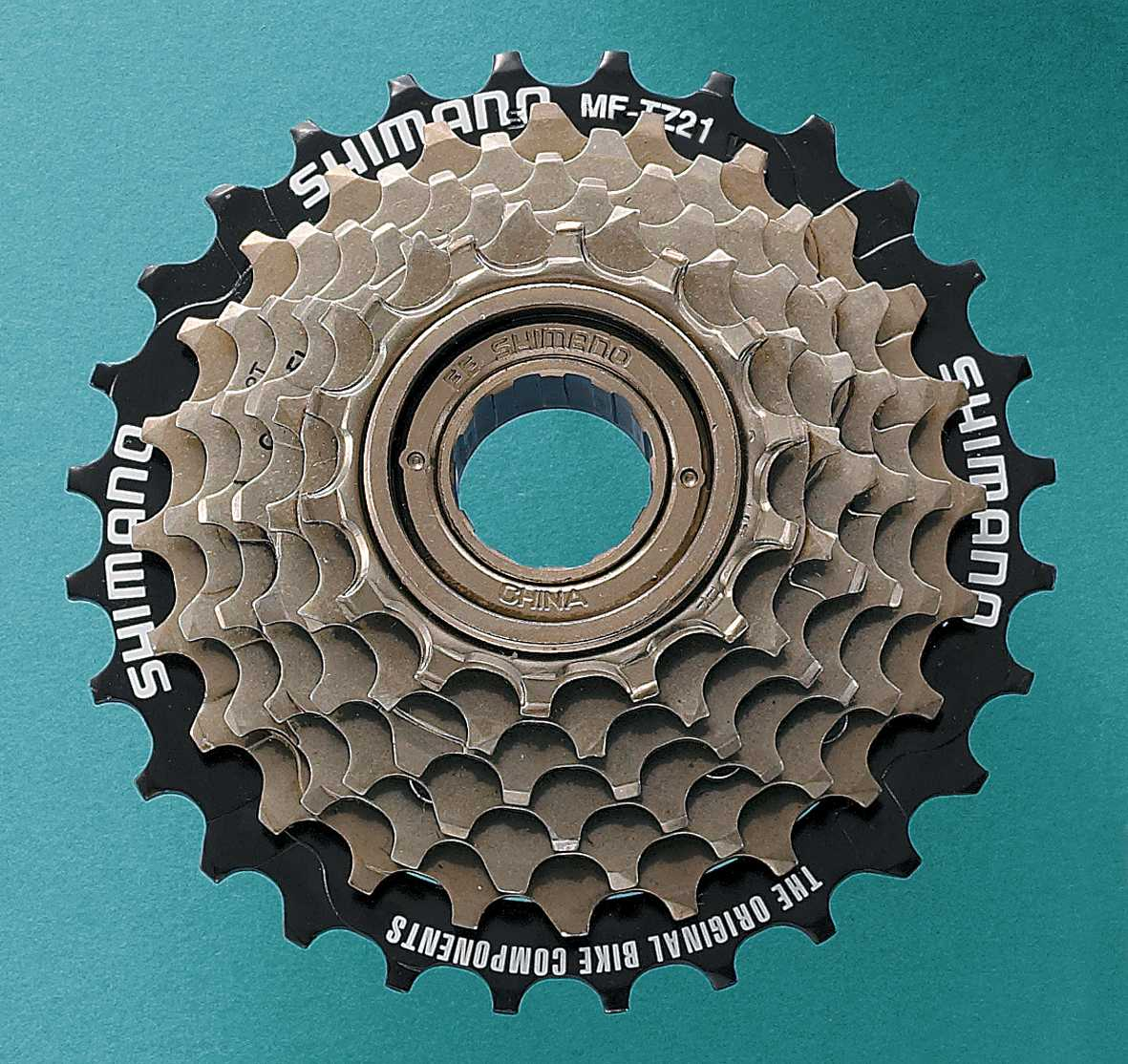 Shimano Tourney TZ21 7 Speed 14-28 Tooth Freewheel