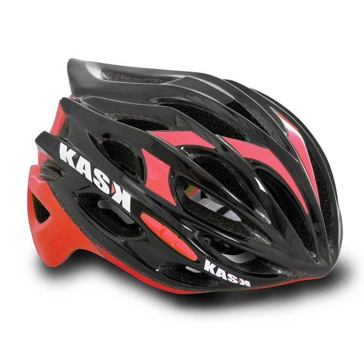 Kask Mojito Road Helmet - Medium (48-58cm) - Black/Red