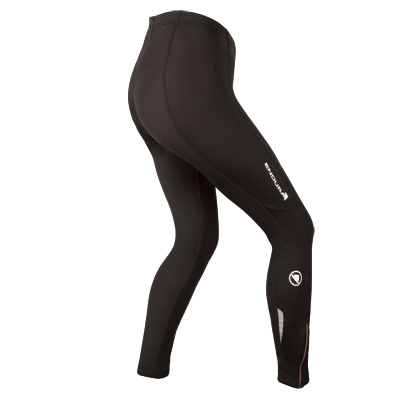 Endura Thermolite Womens Tights with Pad - Small - Black
