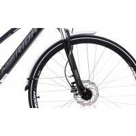 Merida Rack & Mudguard Set for Crossway models - Silver