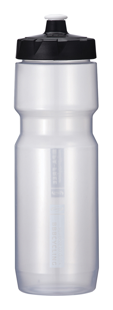 BBB Comptank XL Water Bottle 750ml - Clear/White