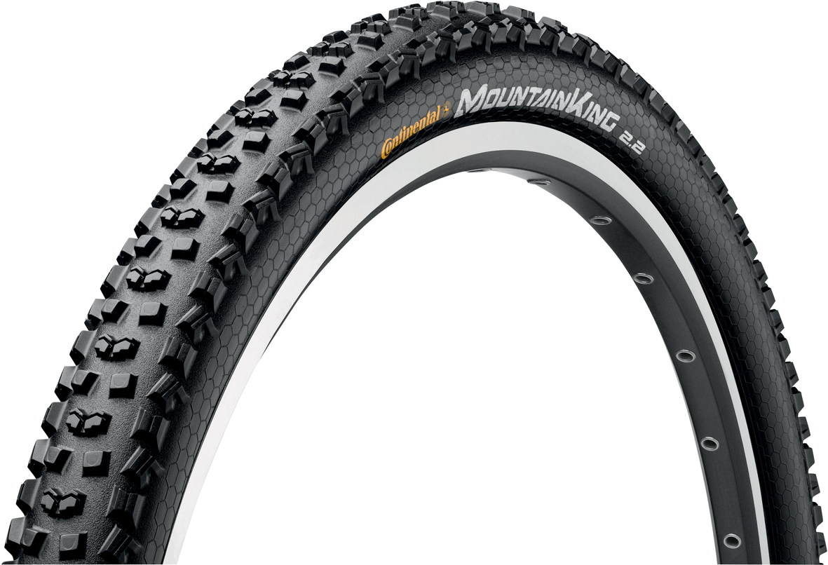 Continental Mountain King II Folding Tyre - 29 x 2.2