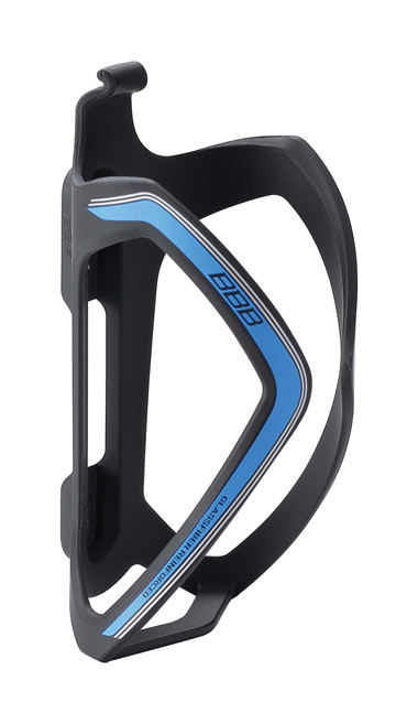 BBB Flexcage Composite Bottle Cage - Matt Black/Blue