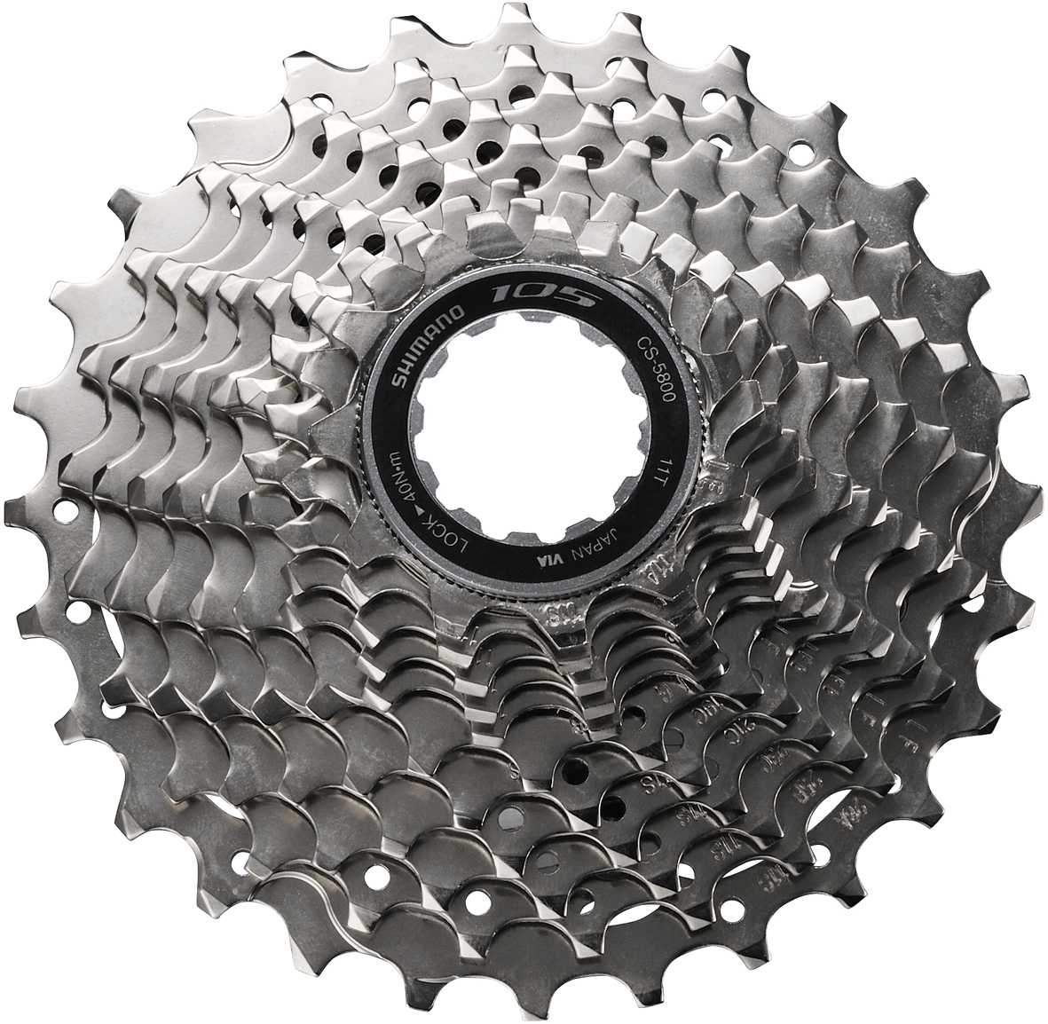 Shimano 105 5800 11 Speed 11-28 Tooth Cassette