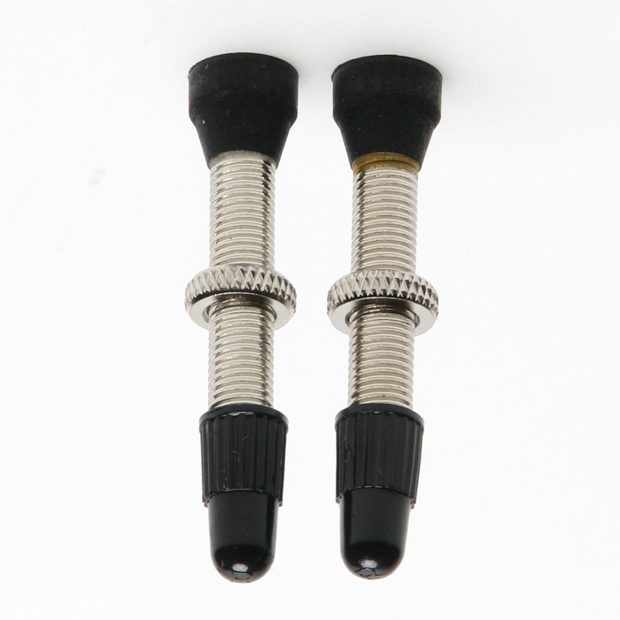 Stans No Tubes 44mm Tubeless Road Presta Valves (pair)