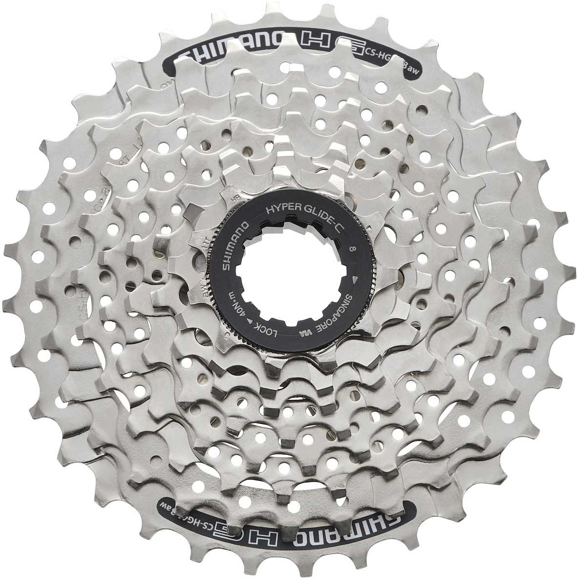 Shimano Altus HG31 8 Speed 11-32 Tooth Cassette - Black