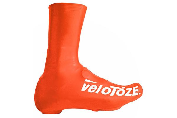 Velotoze Tall Overshoes - Medium - Orange
