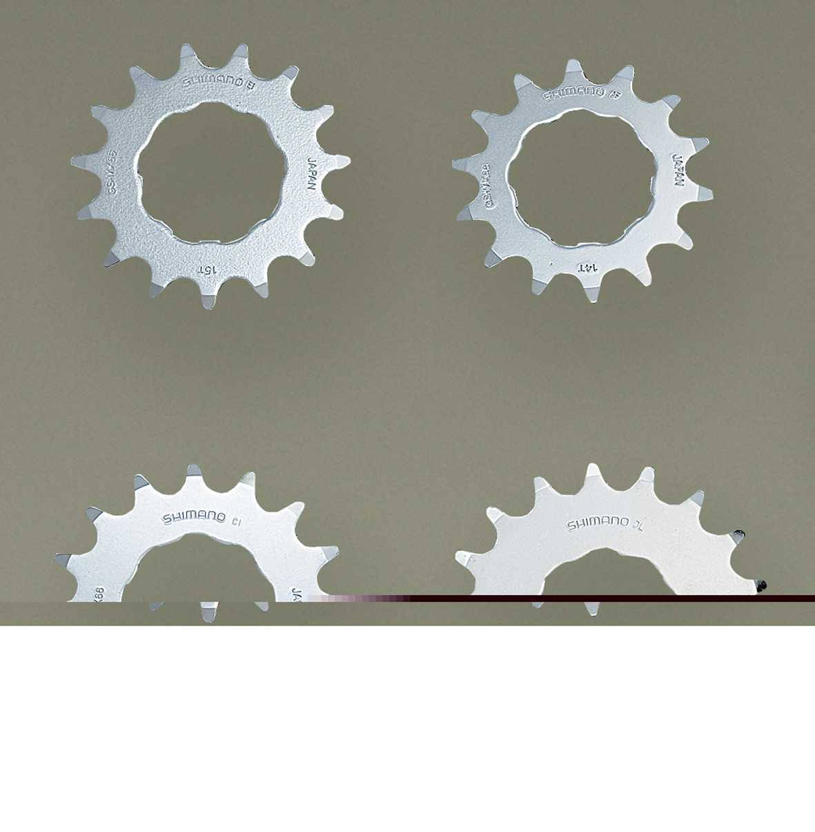 Shimano MX66 13 Tooth BMX Single Speed Sprocket
