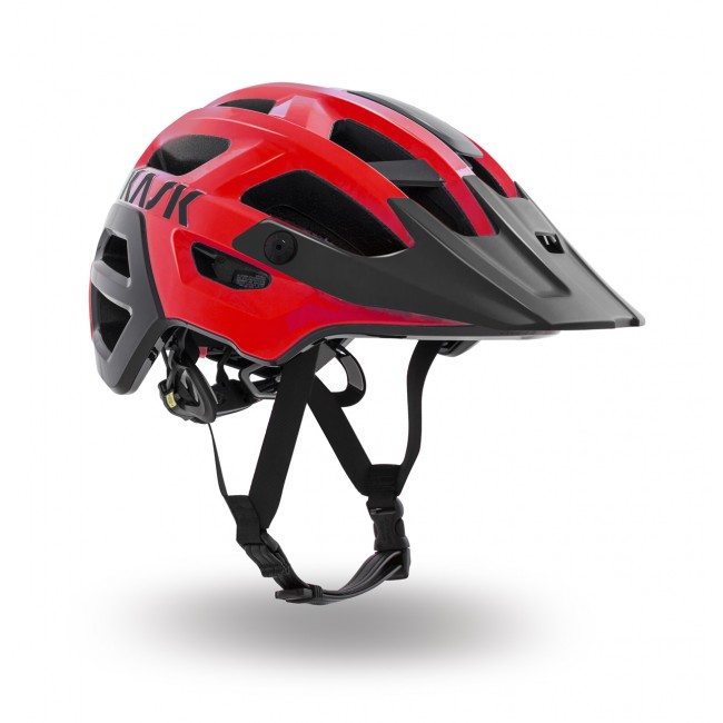 Kask Rex MTB Helmet - Medium (52 - 58cm) - Red