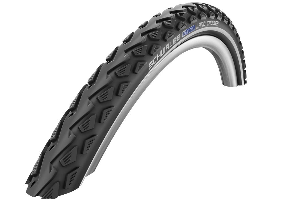 Schwalbe Land Cruiser KevlarGuard Wire Bead Tyre - 26 x 2.0