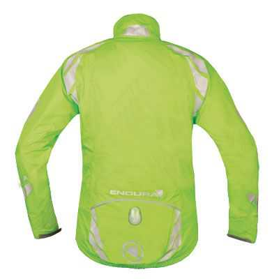 Endura Luminite II Womens Jacket - Large - Hi-Viz Green