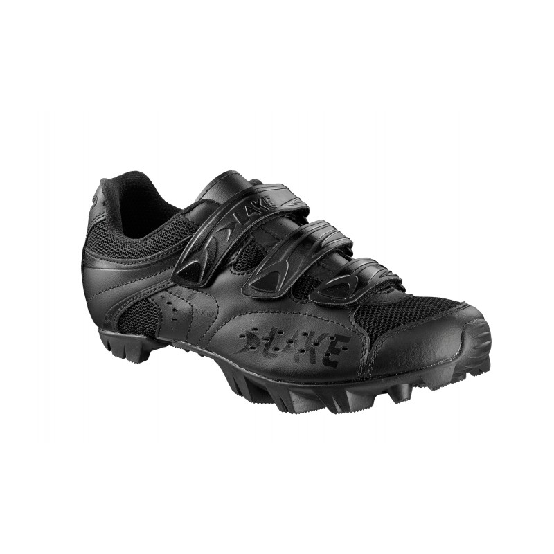 Lake MX160 Mens MTB Shoes - Black - 50