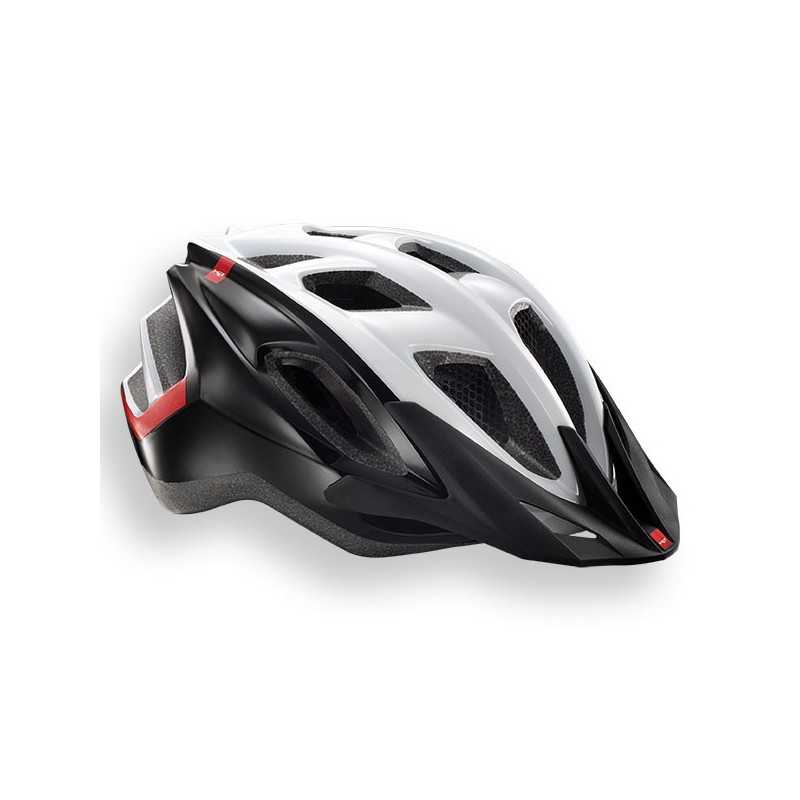 MET Funandgo 2018 MTB Helmet - Medium (54-61cm) - White/Black