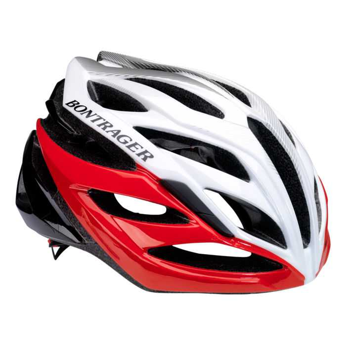 Bontrager Circuit Road Helmet - Medium (54-60cm) - Red/Black/White