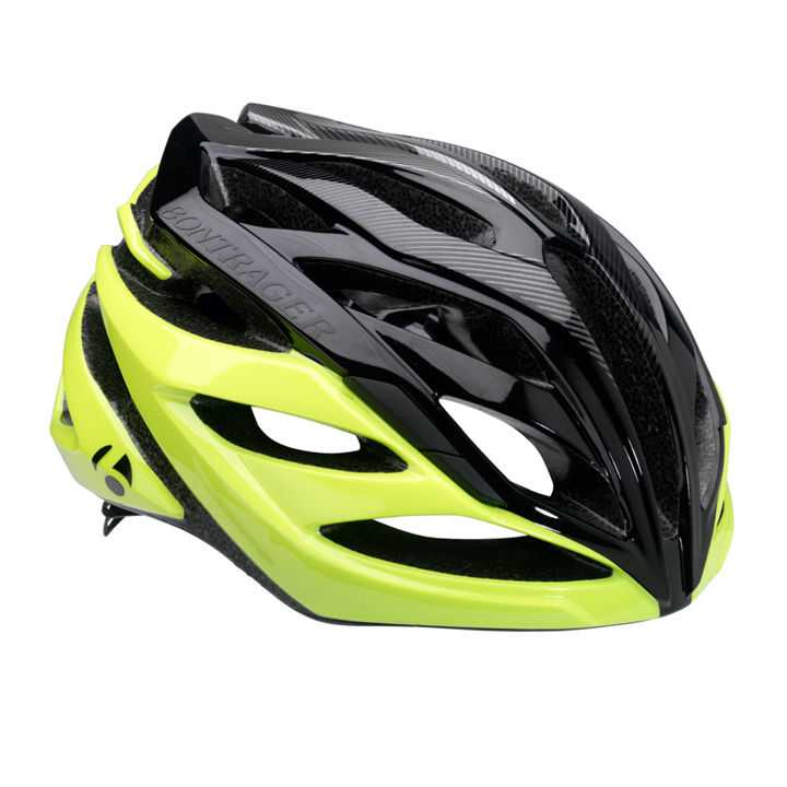 Bontrager Circuit Road Helmet - Medium (54-60cm) - Black/Green