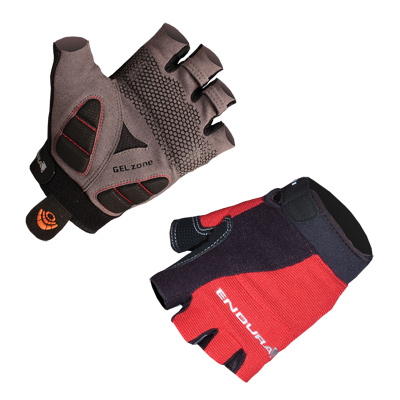 Endura Hummvee Plus Mens Mitts - XXL - Red