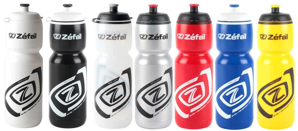 Zefal Premier 75 750ml Water Bottle - Black