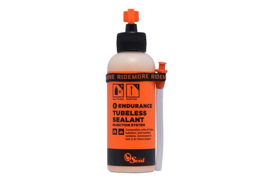 Orange Seal Endurance Tubeless Sealant & Injector - 8oz