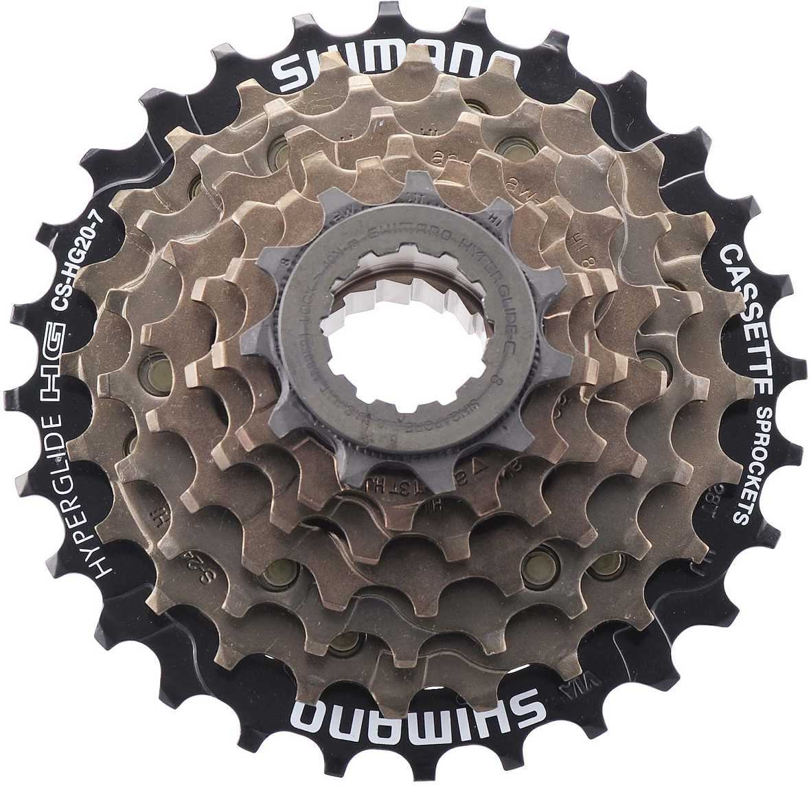 Shimano Alivio HG200 7 Speed 12-32Tooth Cassette
