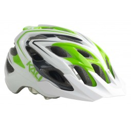 Kali Chakra Plus MTB/Enduro Helmet - Medium/Large (58-62cm) - White/Green