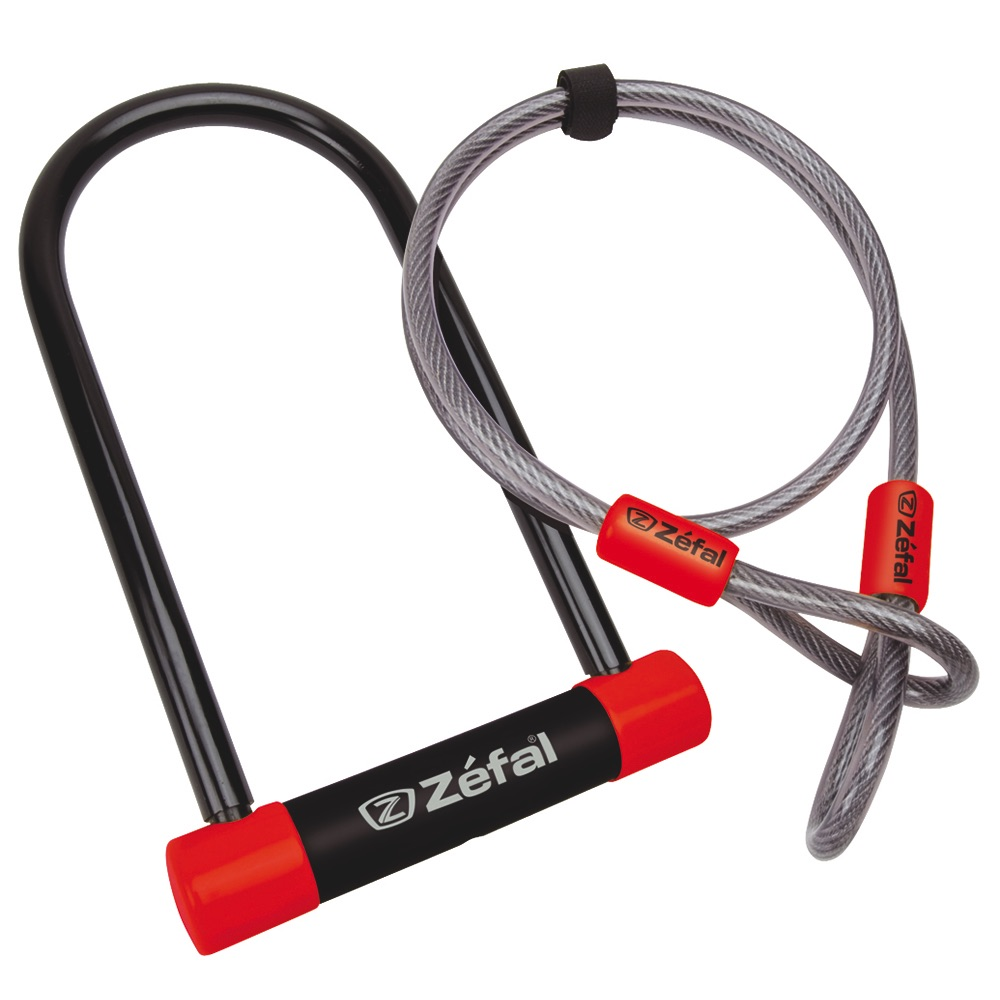 Zefal U-Lock with 1.2M Security Cable
