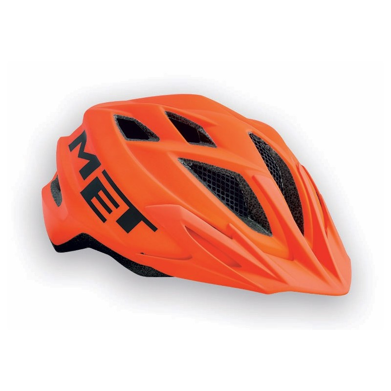 MET Crackerjack 2018 Youth Helmet - One Size (52-57cm) - Orange