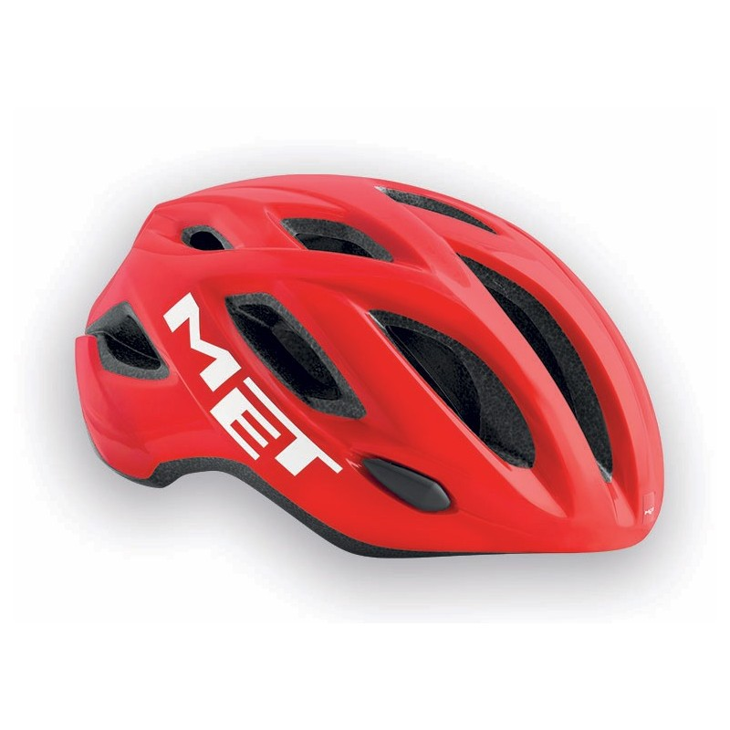 MET Idolo 2018 Road Helmet - XL (60-64cm) - Red/White