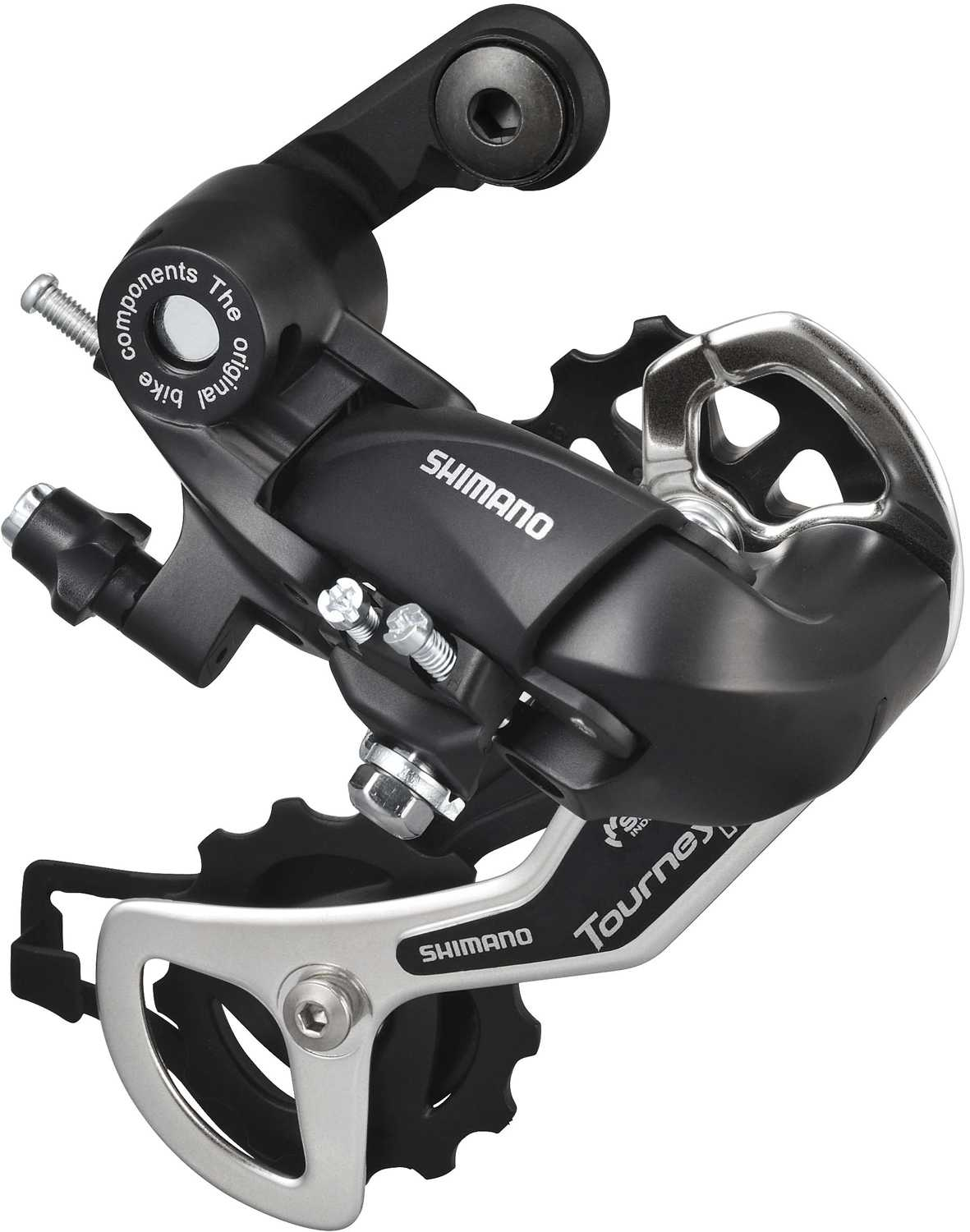 Shimano Tourney TY300 6/7 Speed Rear Derailleur SGS Direct Fit - Black