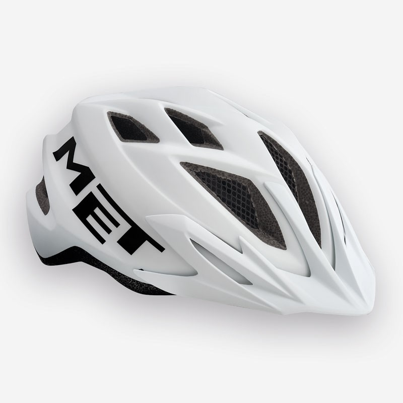 MET Crackerjack 2018 Youth Helmet - One Size (52-57cm) - White