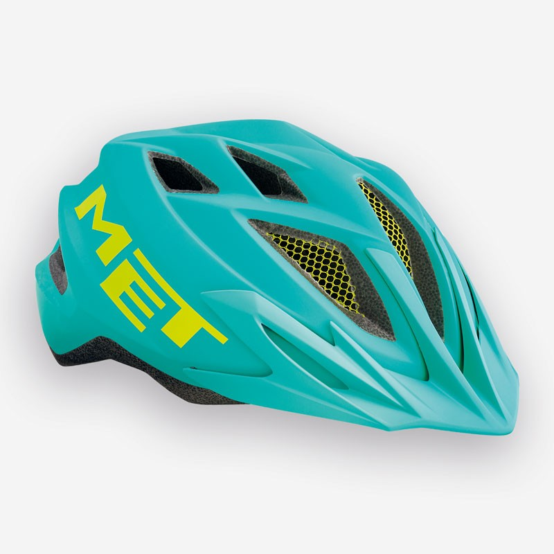 MET Crackerjack 2018 Youth Helmet - One Size (52-57cm) - Emerald