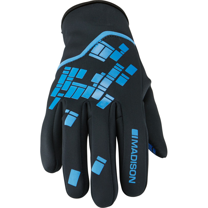 Madison Element Youth Softshell Gloves - Small - Blue