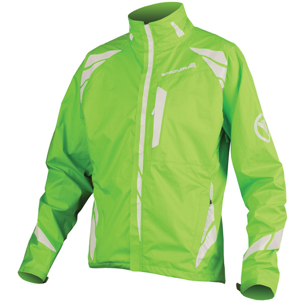 Endura Luminite II Mens Jacket - XL - Hi-Viz Green