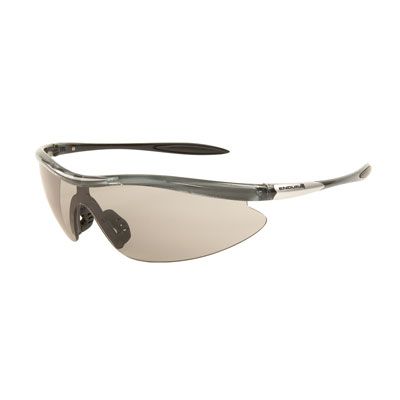 Endura Angel Photochromic Sunlasses with Clear Lens - Black