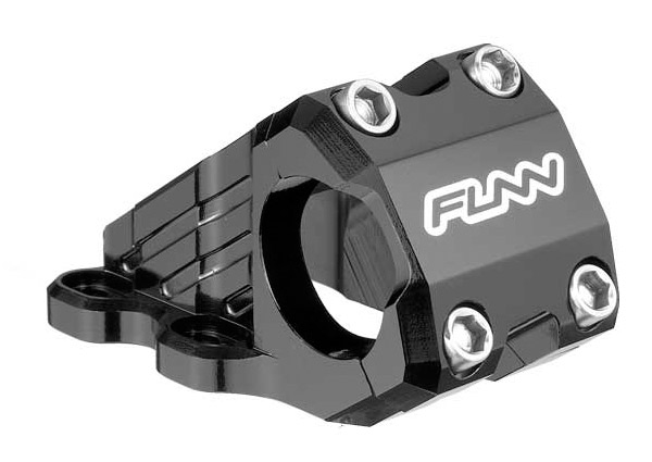 Funn RSX Direct Stem with Titanium Bolts for 25.4mm Bars - Black