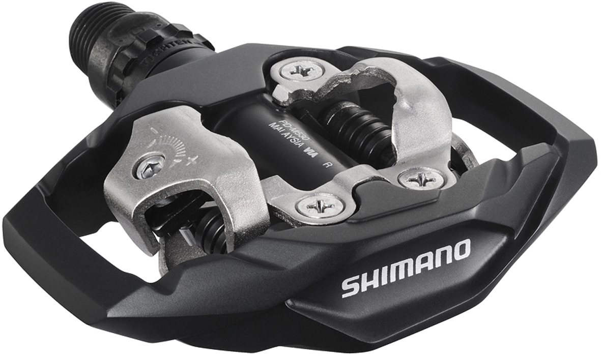 Shimano M530 SPD Trail Pedals - Black