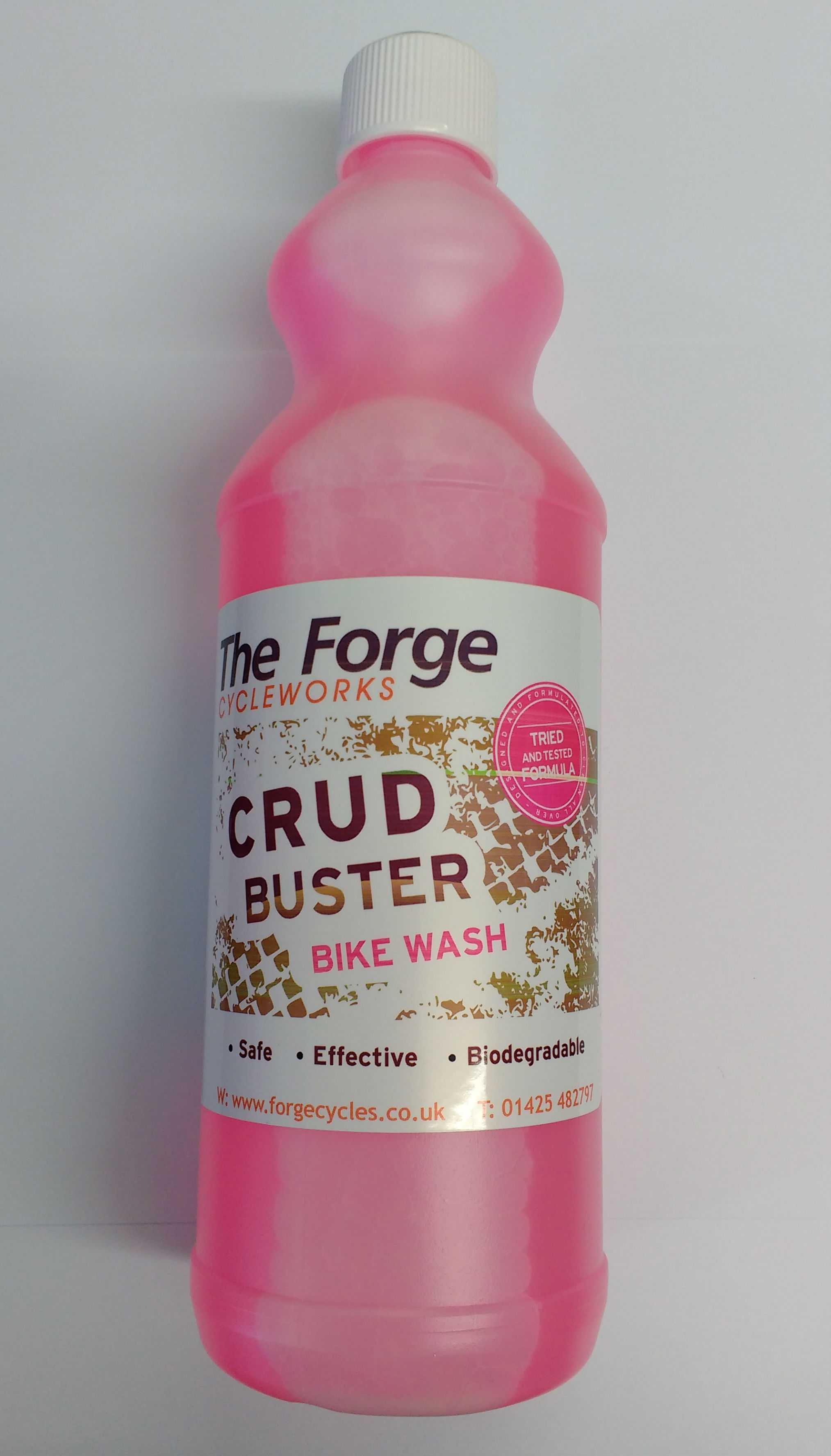 Crud Buster Bike Wash with Spray Nozzle