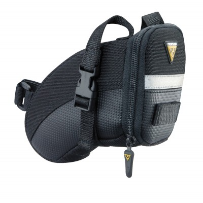 Topeak Aero Wedge Seat Bag with Straps - Small