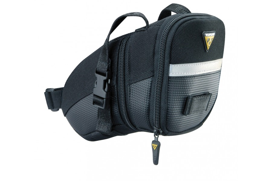 Topeak Aero Wedge Seat Bag with Straps - Medium