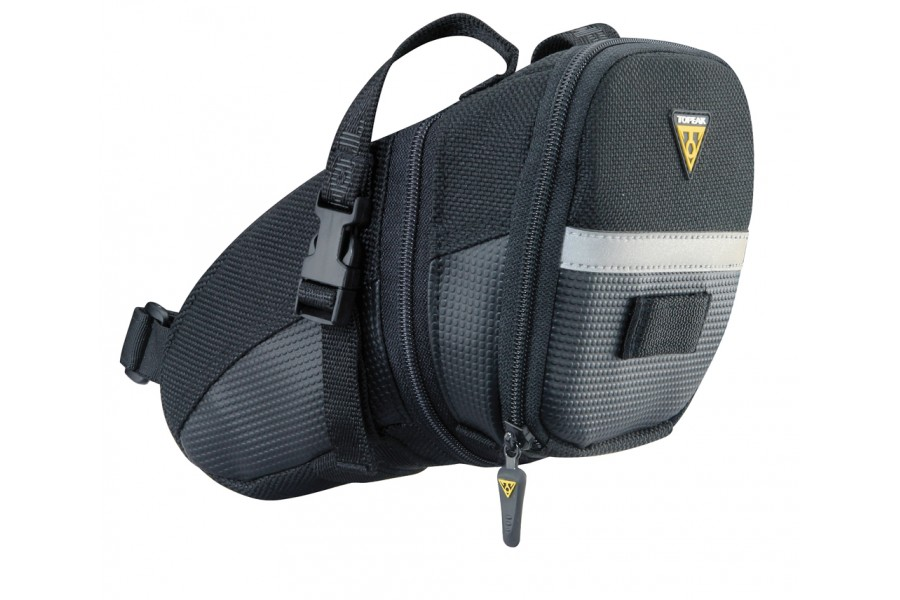 Topeak Aero Wedge Seat Bag with Straps - Large