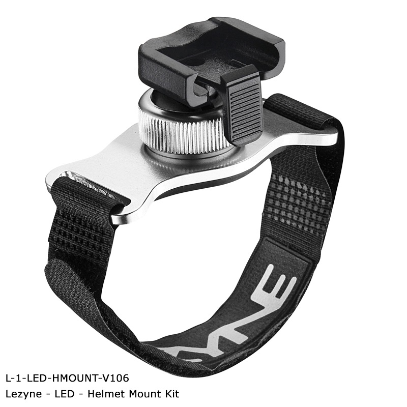 Lezyne Alloy Helmet Mount for XL Light Range