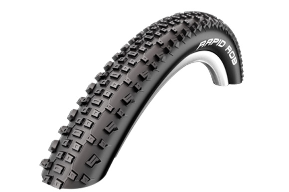 Schwalbe Rapid Rob Active Line Wire Bead Tyre - 26 x 2.1