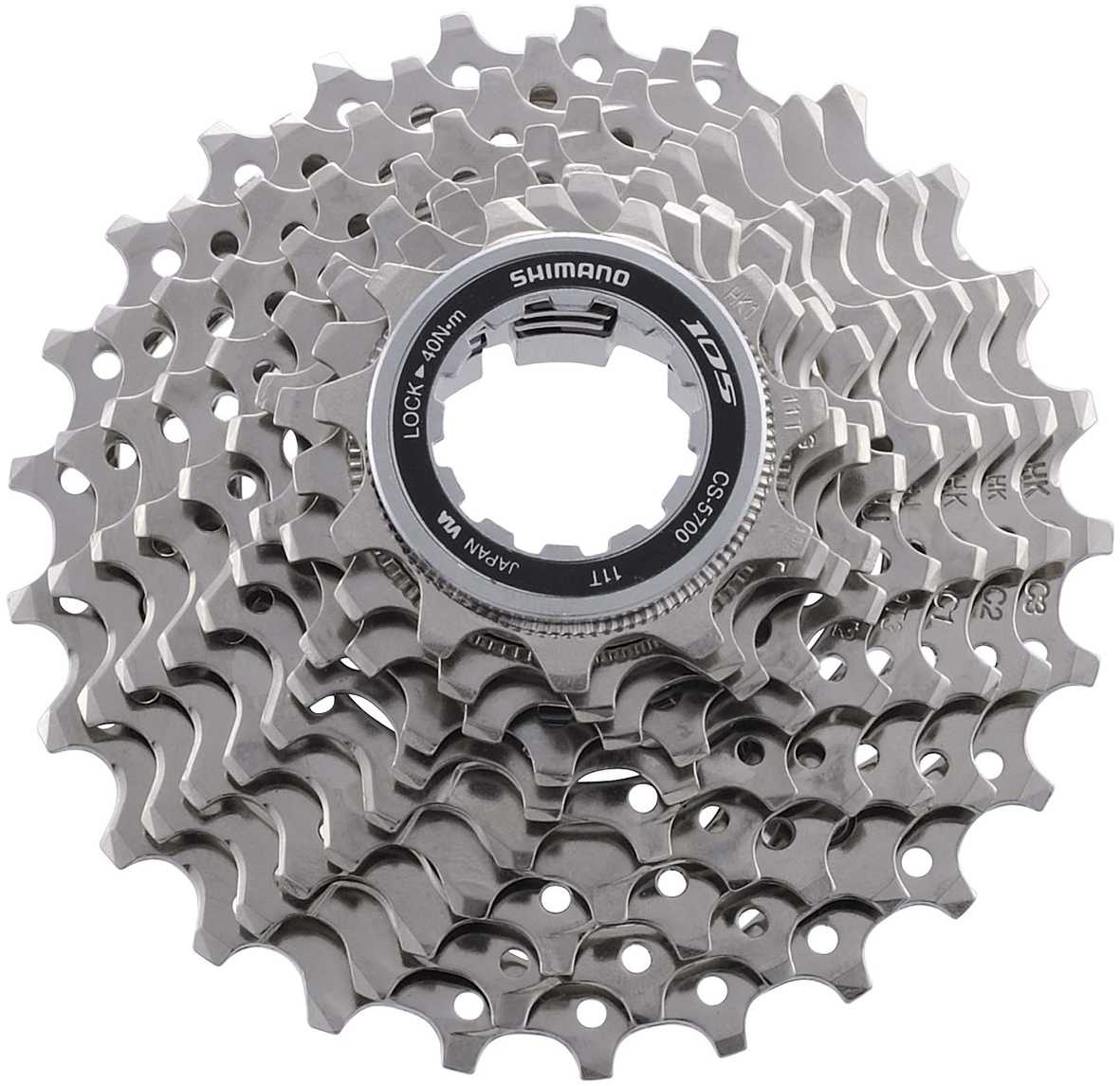 Shimano 105 5700 10 Speed 11-28 Tooth Cassette