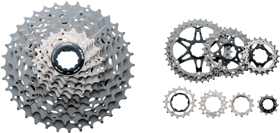 Shimano XTR M980 10 Speed 11-36 Tooth Cassette