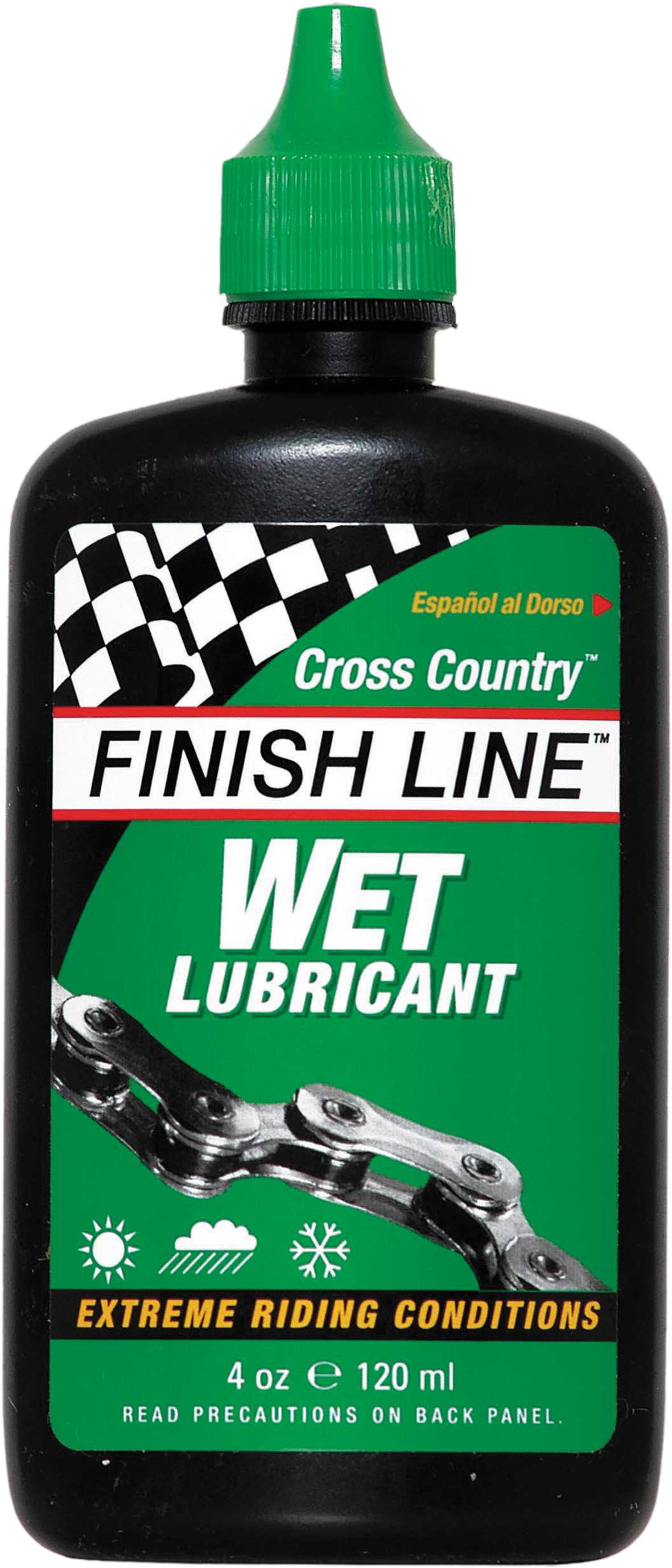 Finish Line Cross Country Wet Lube 120ml