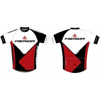 Merida Trieste Mens Short Sleeve Jersey - Small - Red