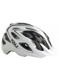 Kali Chakra Plus MTB/Enduro Helmet - Medium/Large (58-62cm) - White/Black