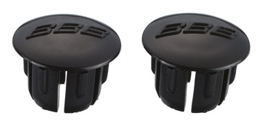 BBB Road Bar Endcaps - Black