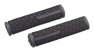 BBB Dualgrip Grips 125mm - Black/Grey